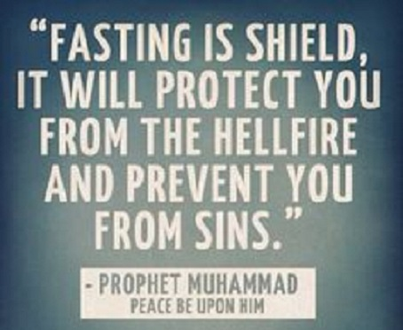 fasting is a shield