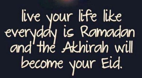 goodbye Ramadan