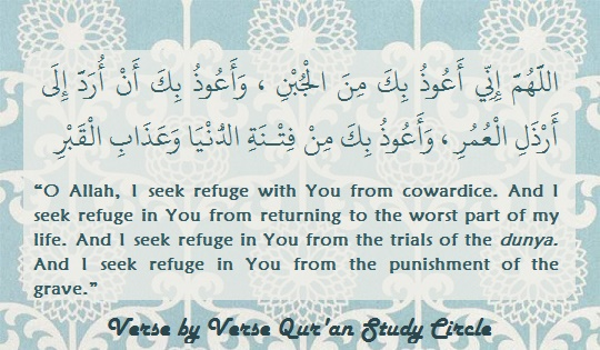 refuge against cowardice