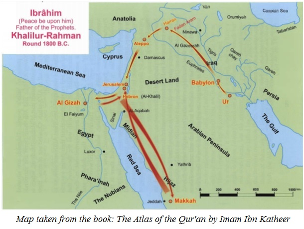 the migration of Prophet Ibraheem
