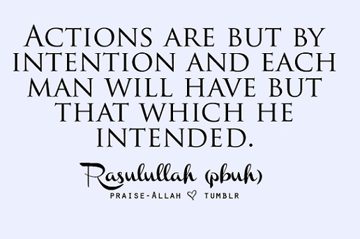 actions are but by intentions