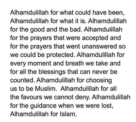 Alhumdulillah