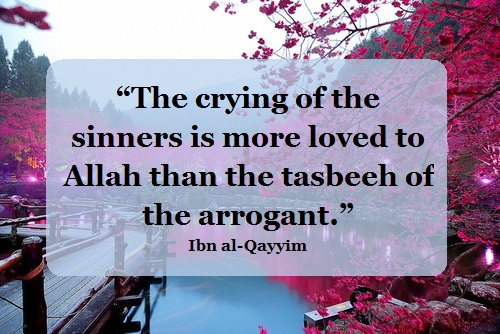 the crying of the sinners