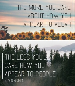 living to please Allah