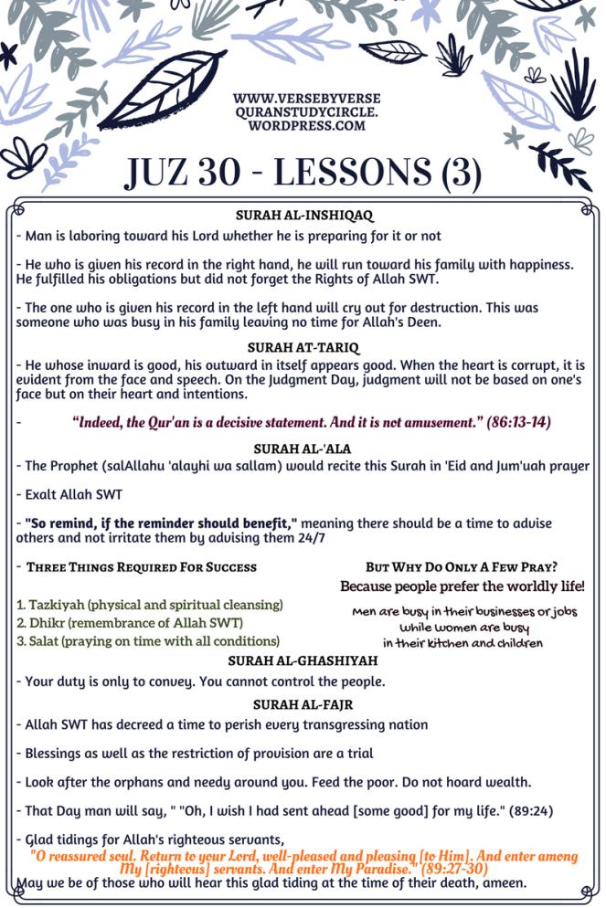 Juz 30 [Lessons] (3)